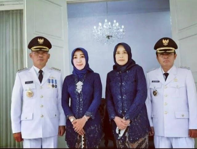 Gunungkidul Punya Pimpinan Baru, Pasangan Bupati Dan Wakil Bupati Resmi Dilantik Sultan