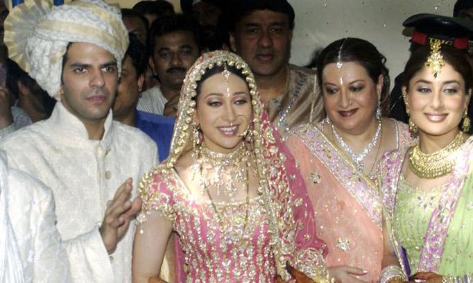 Hollywood Stars Karisma Kapoor  Sanjay Kapoor Wedding -6502