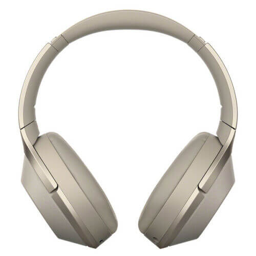 Sony WH-1000XM2 Wireless Noise Cancelling Stereo Headphones Gold
