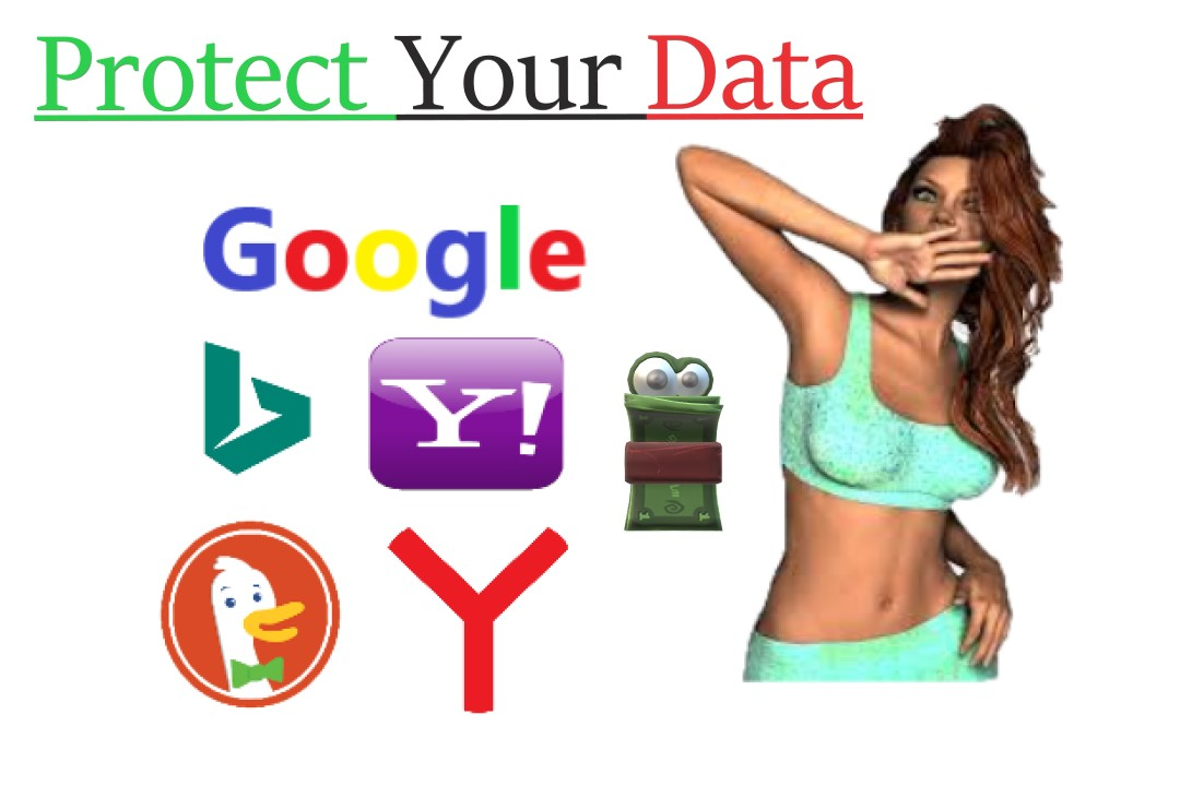 Protect data from search engines(Google,Bing,Yahoo)