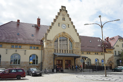 Budynek dworca Świdnica Miasto