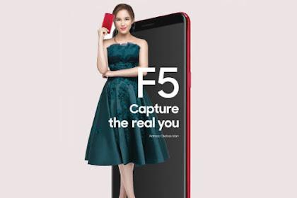 Oppo F5 Siap Hadir, Inilah Harga Dan Spesikasinya