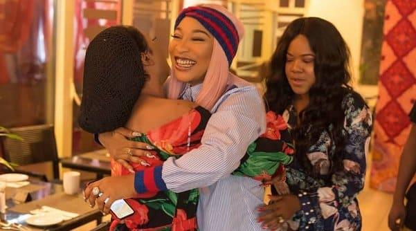 Tonto Dikeh and Bobrisky continue to ignore Toyin Abraham's triple celebration