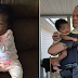 Police Officer Becomes Godfather For 2-Year-Old Baby Girl He Saved From Choking