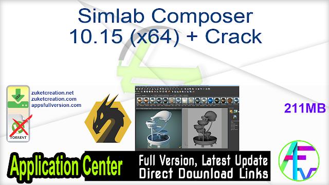 Simlab Composer 10.15 (x64) + Crack