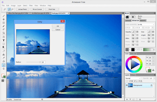اسهل برنامج للرسم والتعديل على الصور بدون خبرة Artweaver