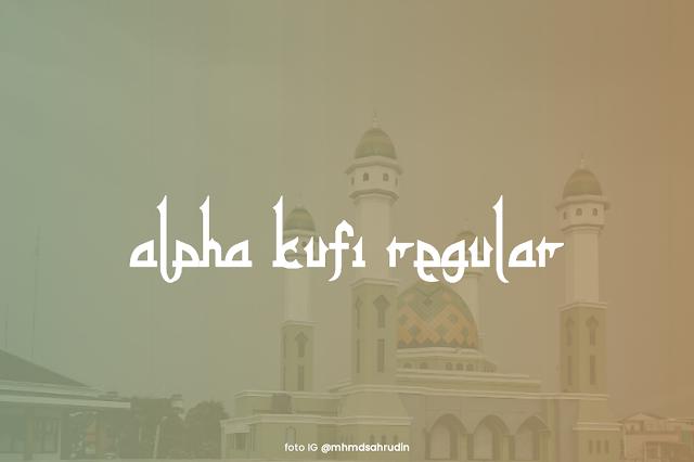 Font alpha kufi ttf