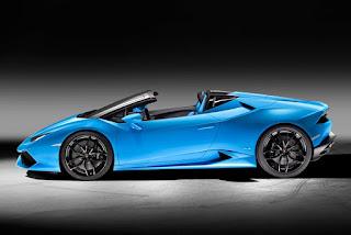 2017 Lamborghini Hurricane Side