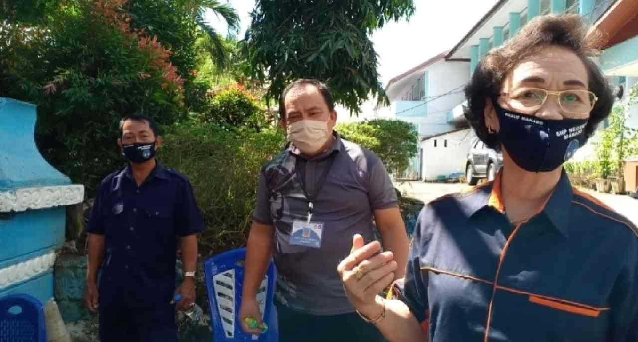 Pendaftaran PPDB SMPN 1 Manado Berjalan Dengan Lancar