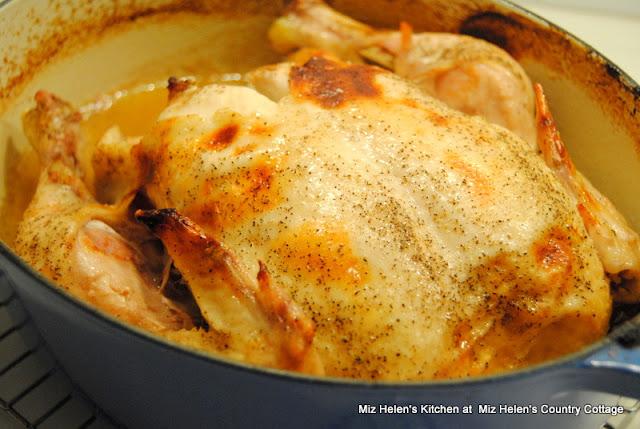 Honey Baked Chicken at Miz Helen's Country Cottage