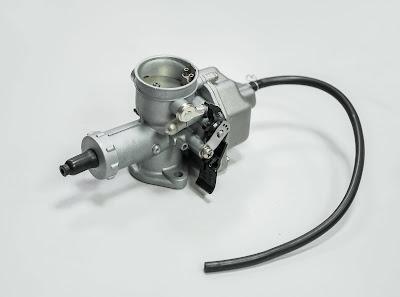 fungsi komponen karburator pada motor