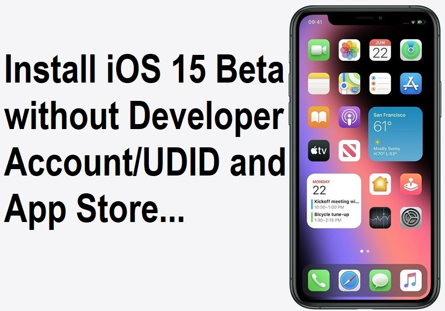 How to Install iOS 15.1 Beta without Developer Account
