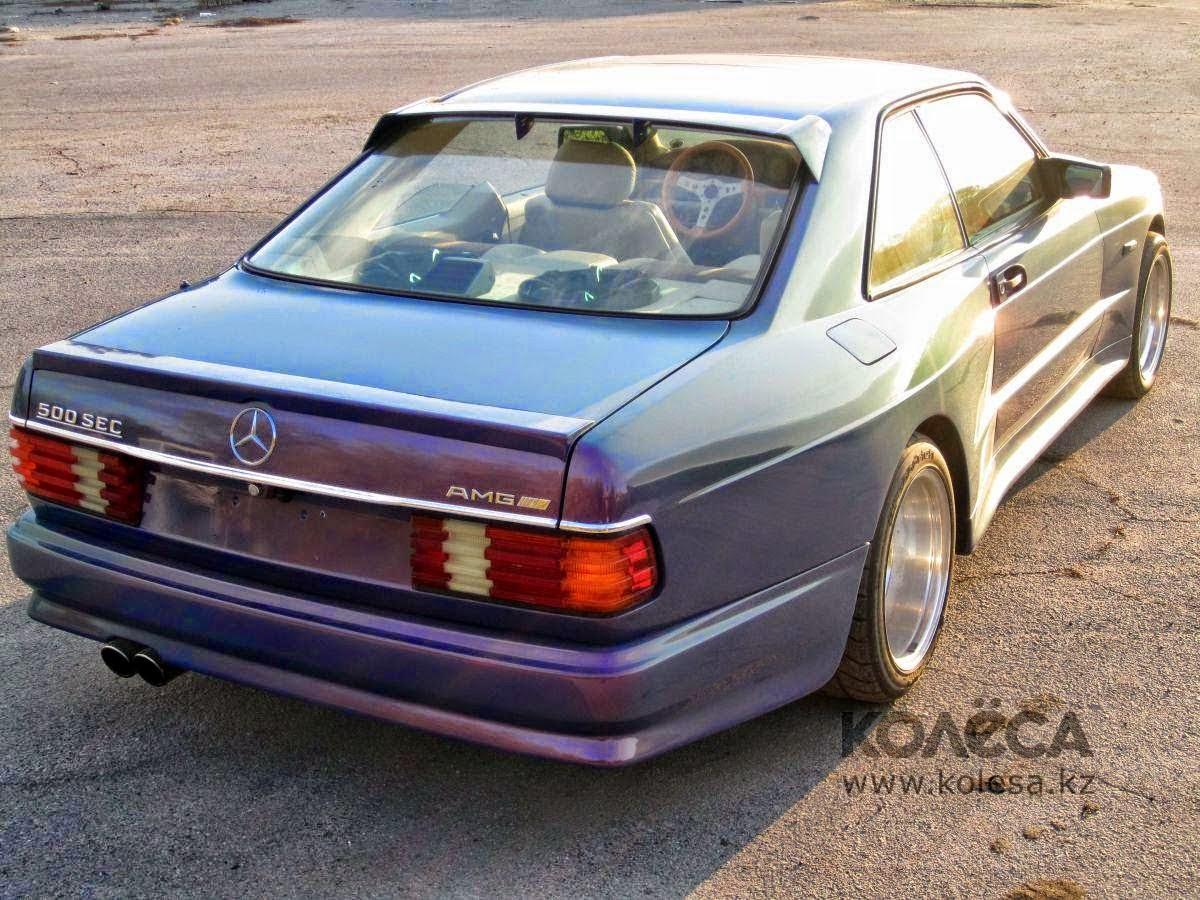 Mercedes-Benz W126 500SEC AMG Widebody | BENZTUNING