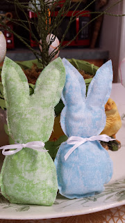 Bunnies to sew, Living from glory to glory blog...