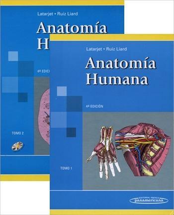 Anatomía Humana Latarjet tomo 1 y 2 ~ ACUERDO ACADÉMICO 🎓