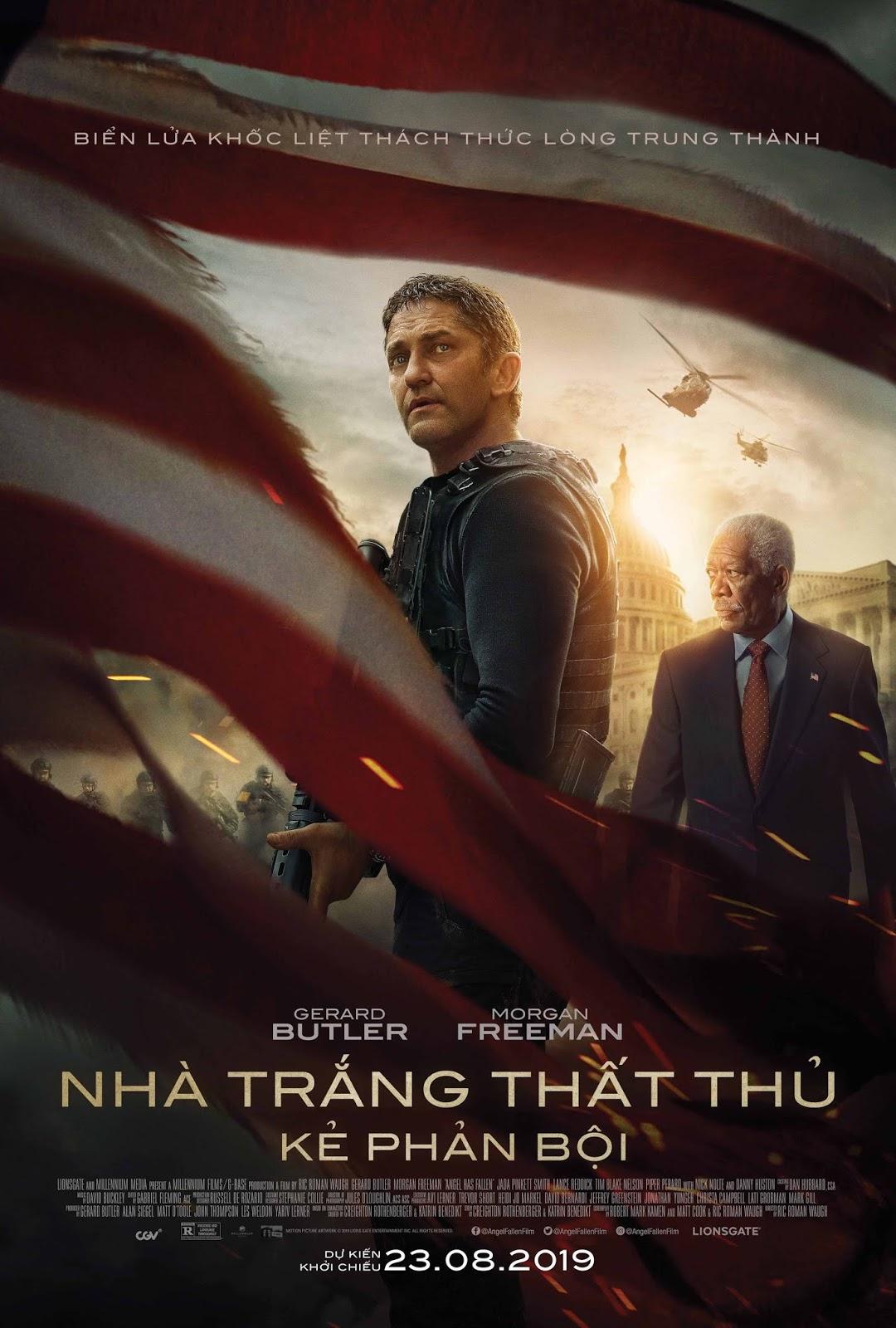 Xem Phim Nhà Trắng Thất Thủ: Kẻ Phản Bội 2019