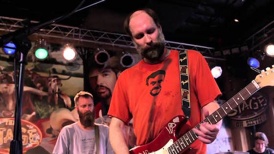 built to spill live at stage on sixth march 2012