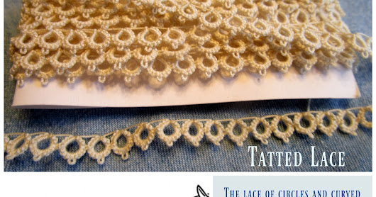 Tiny Knots, Patience and Delicate Lace