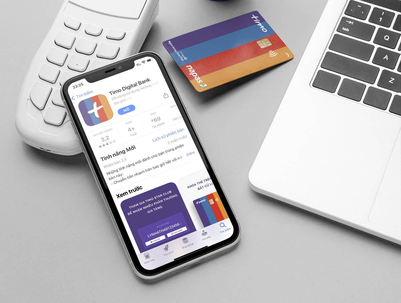 mở tài khoản ngân hàng timo online