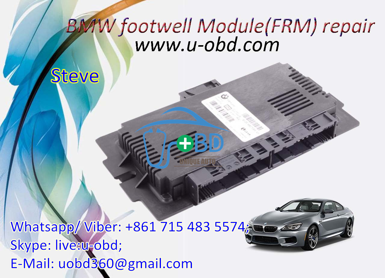BMW FRM Module FRM3R 6135_9224596_SW115500_HW05 Dflash Pflash eeprom