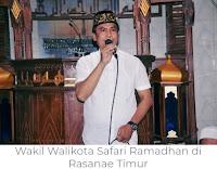 Awali Safari Ramadhan Pemkot, Wakil Walikota Bima Serahkan Bantuan untuk Masjid Baiturahman Kodo 1