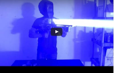 Watch This Homemade Super-Powerful Laser- Bazooka Is extra Blinding Than 33 Million Suns