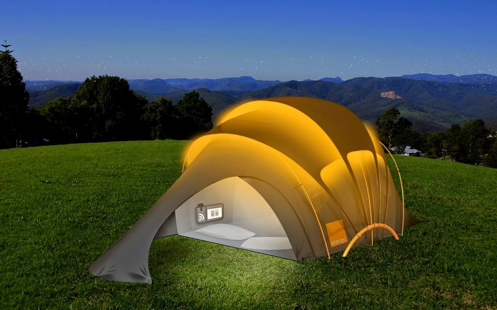 This Solar Powered Tent Can Power All Your Mobile Gadgets