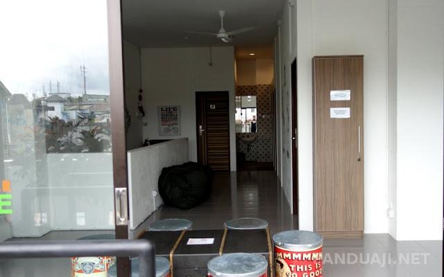 Lantai 5 The lodge packer hostel yogyakarta