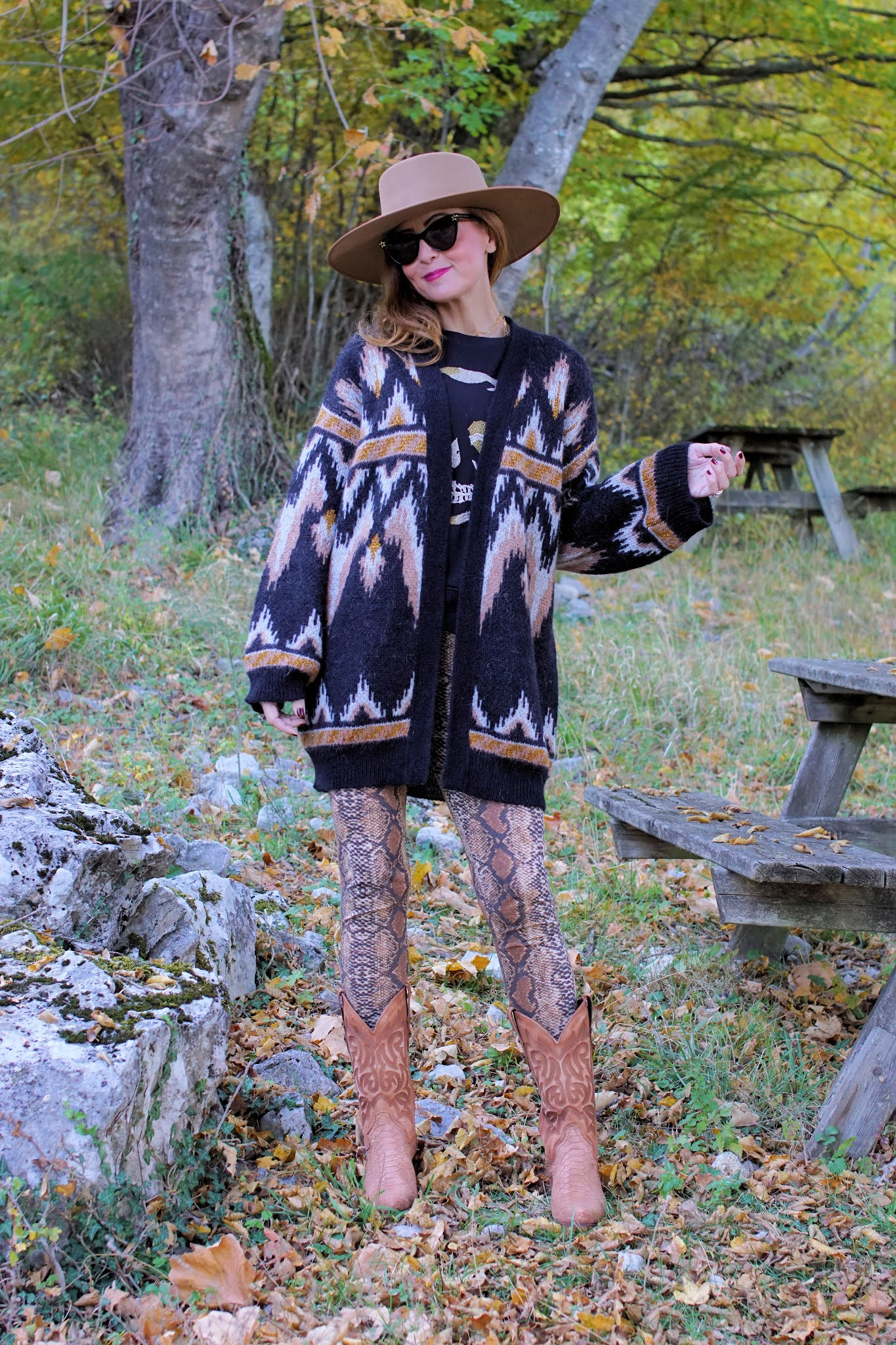 Western Fall look with Mayura boots