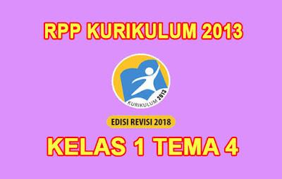 download rpp kelas 1 tema 4 k13 tahun 2019/2020