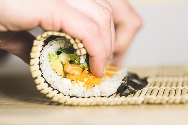 faire ses propres maki sushi St-Valentin