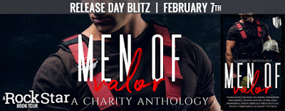 Release Week Blitz with Giveaway:  Men of Valor – Charity Anthology