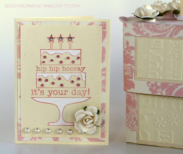 Piece of Cake Treat Box and Card | SVG Cuts