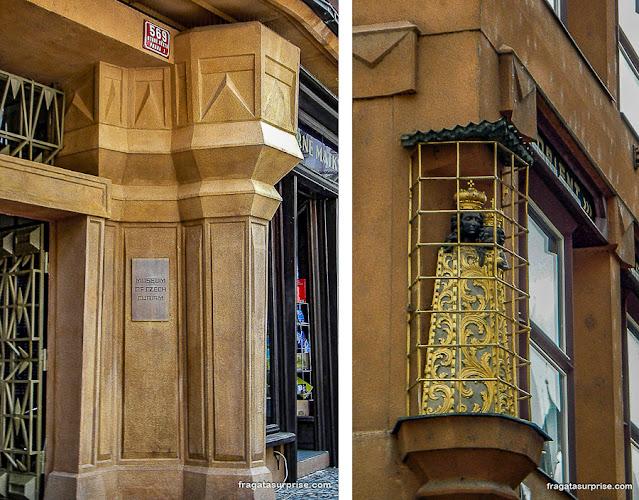 Arquitetura cubista em Praga e a Madona Negra do Grand Café Orient