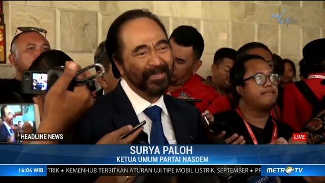 Megawati Bahagia Ada Prabowo Sehingga Lupa Surya Paloh