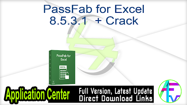 PassFab for Excel 8.5.3.1  + Crack