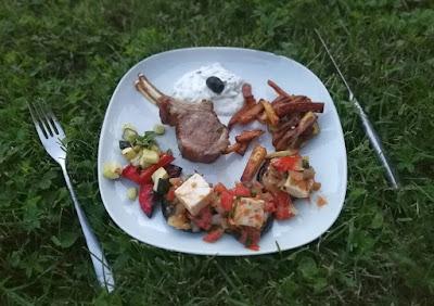 Lamm mit Kartoffeln, griechisch inspiriert