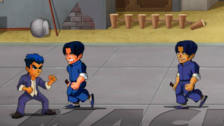لعبة قتال الشوارع الحرة