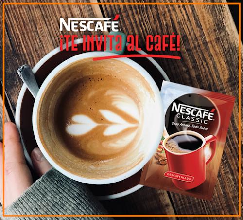 Tómate un café en el bar ¡gratis!
