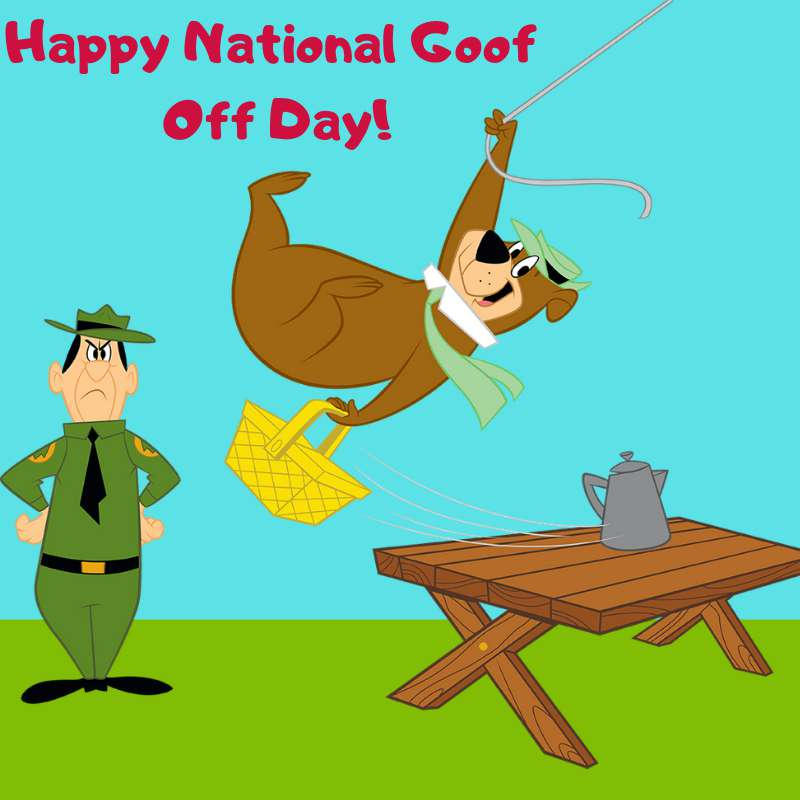National Goof Off Day Wishes Beautiful Image