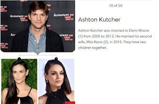 Ashton Kutcher married two time
