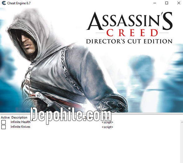 Assassins Creed Directors Cut Edition CT Trainer Hilesi İndir