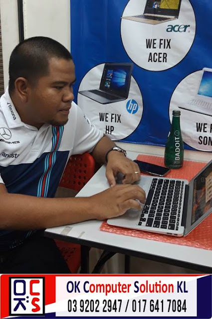 [SOLVED] MASALAH CANNOT ON MACBOOK AIR | REPAIR LAPTOP CHERAS 7