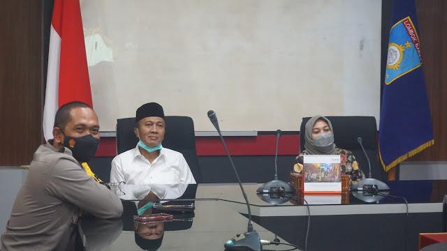 Bupati Lobar, Kapolres dan ketua DPRD Lombok Barat