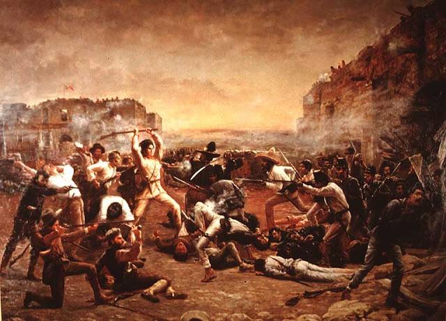 tempat bekas pertempuran Alamo yang banyak di hantui hantu gentayangan