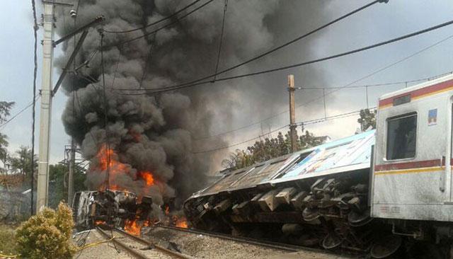 Tragedi Kereta Pernah Terjadi di Bintaro Pada tahun 2013