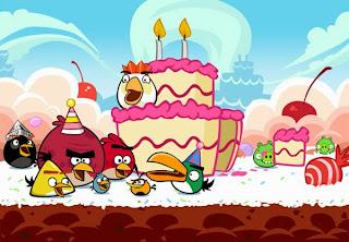 Γενέθλια με Angry Birds