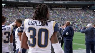 Todd Gurley Los Angeles Rams running backs