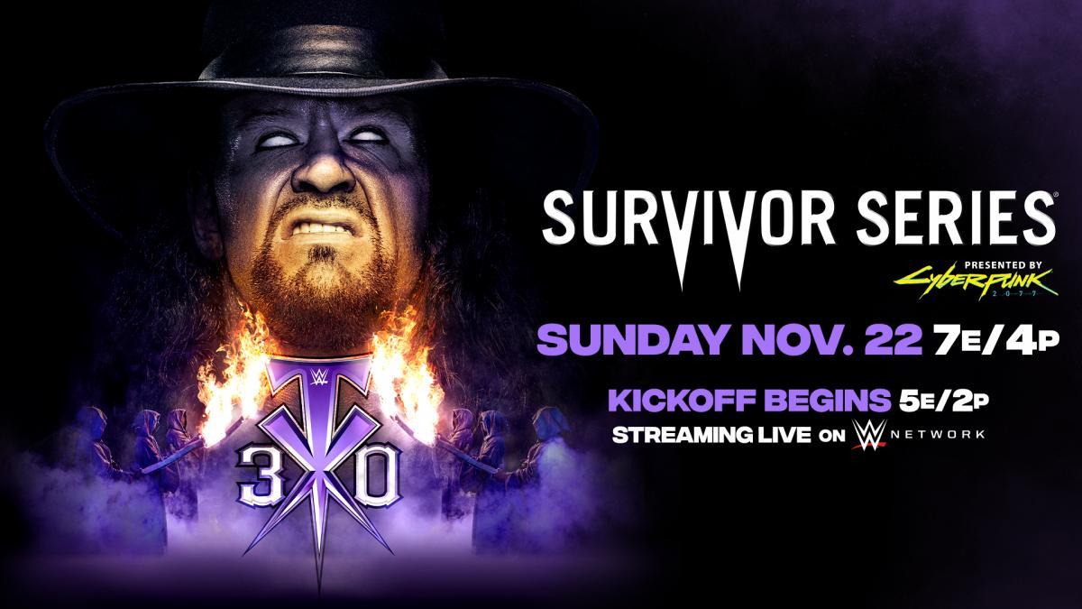 Qual combate será o evento principal do Survivor Series?