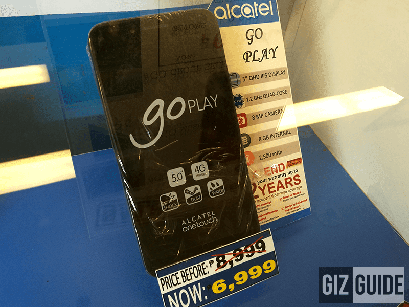 Alcatel OneTouch Go Play price cut